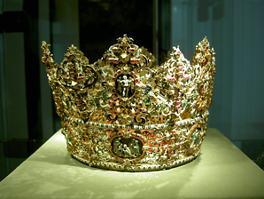 A crown from the Middle Ages.