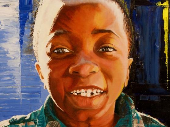 """Khai"" by Colin Howel, courtesy of the Rare Disease United Foundation"
