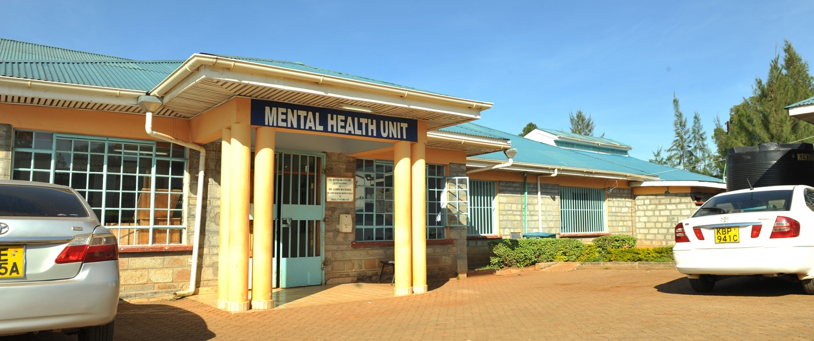 The inpatient mental health unit at MTRH.
