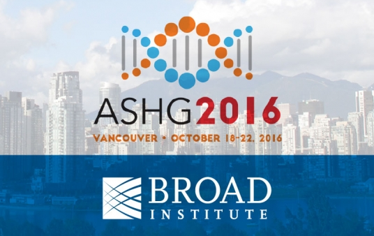 Conference logo courtesy of ASHG; Vancouver skyline by Thom Quine | WikimediaCommons