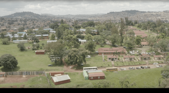 Butabika Hospital drone view